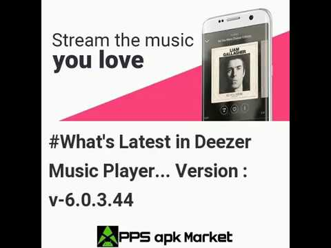 Latest Updates In Deezer Music Player: Songs, Radio & Podcasts Android Version 6.0.3.44