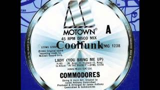 """Commodores - Lady (You Bring Me Up)  """" 12"""" Disco-Funk 1981 """""""