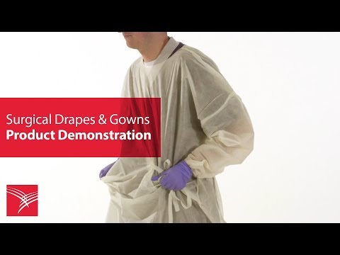 Cardinal Health™ AAMI Level 2 Over-the-Head Isolation Gown (AT4488 Series)
