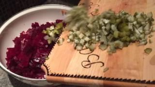 Старинный рецепт винегрета
