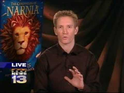 "12/5/07 5am: Author crafts ""The Chronicles of Narnia"" into pop-up book"
