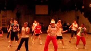 """Beginner Zumba class - """"Shackles"""" Mandisa style!"""