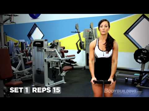 Sexy Shoulders: Ali Rosen's Shoulder Workout - Bodybuilding.com