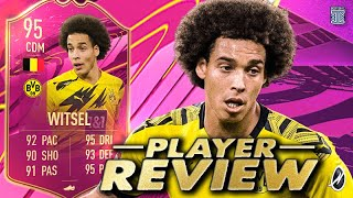 NEW GAMEPLAY OBJECTIVE?!😱 95 FUTTIES WITSEL PLAYER REVIEW! GAMEPLAY OBJECTIVE FIFA 21 ULTIMATE TEAM
