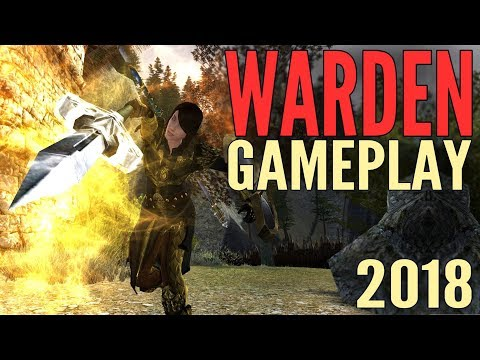 LOTRO Warden Gameplay 2018 – Lord of the Rings Online Mordor