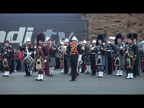 Battle of Arras Commemoration, Edinburgh Castle 2017