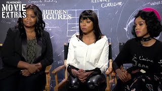 Hidden Figures (2017) Taraji P. Henson, Octavia Spencer and Janelle Monáe talk about the movie