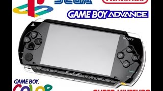 ULTIMATE EMULATOR MACHINE - MODDED PSP - PLAY PSP & PS1 BACK UPS + 25 EMULATORS - CFW 6.60-B10