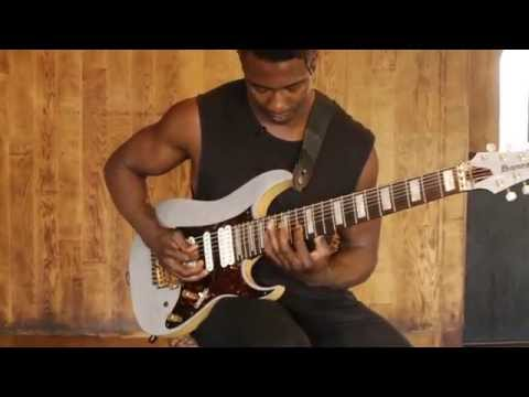 Guitar Lesson: Tosin Abasi's 'hammer-on, downstroke, upstroke' technique