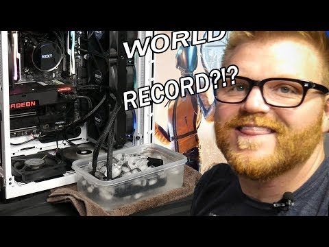 AMD R9 Fury X RECORD BREAKING Overclocks W/ ICE!