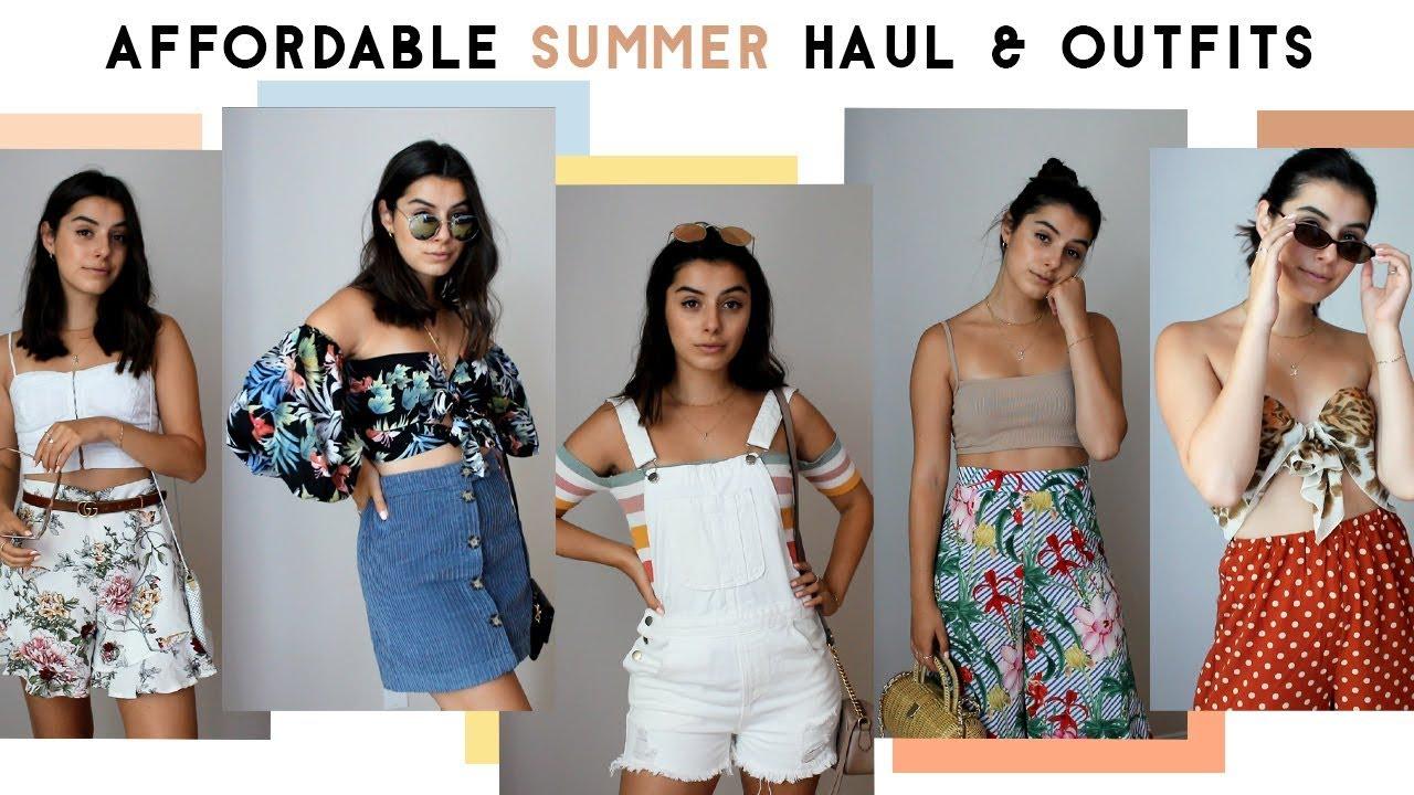 9f8f7f0e9 Boohoo Summer Haul & Summer Outfit ideas - YouTube