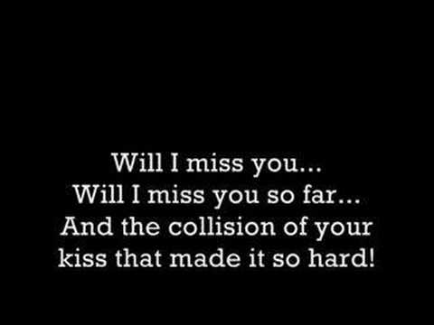 My Chemical Romance- Cemetery Drive Lyrics