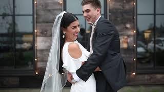 Chelsea and Travis' Terrain Gardens Wedding