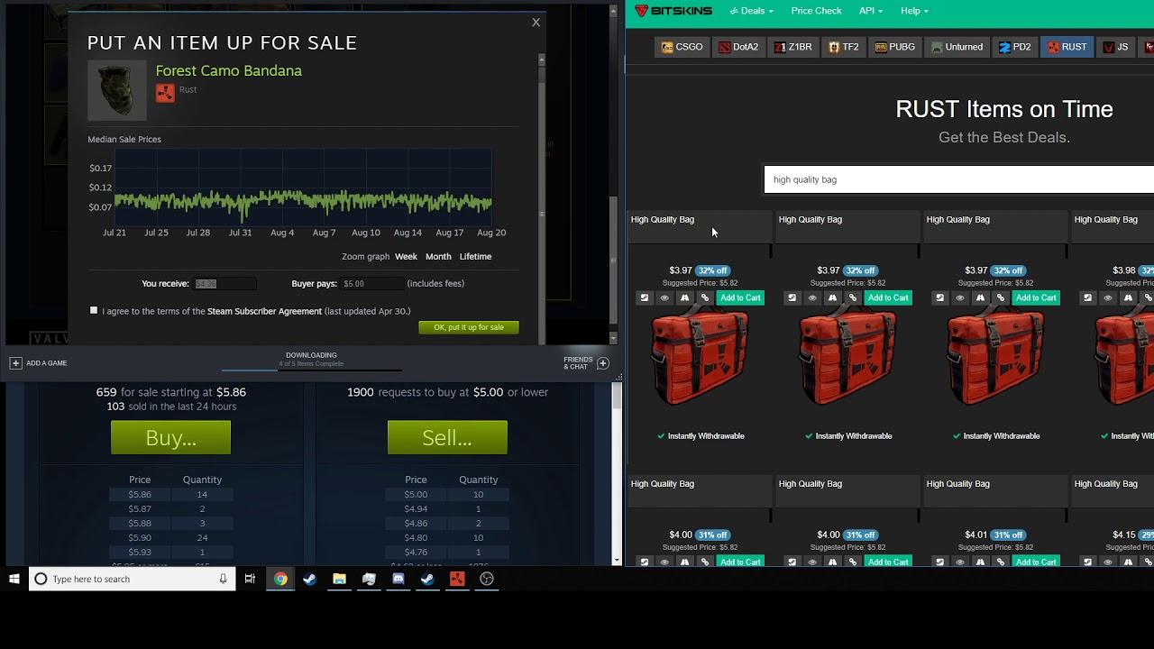 make money on steam with no money