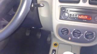 Substituição do filtro de ar condicionado Renault clio