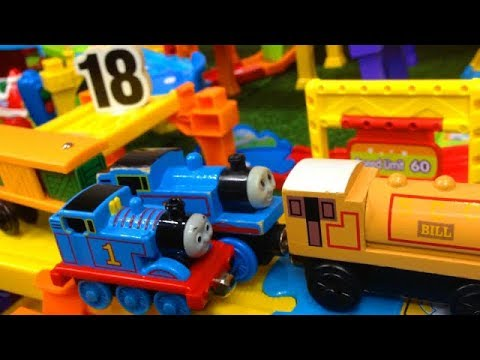 Smart Wheel City presents: Too Long Train. Learn Numbers as Our Thomas the train set gets VERY long