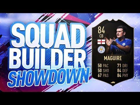 FIFA 19 SQUAD BUILDER SHOWDOWN!!! INFORM HARRY MAGUIRE!!!