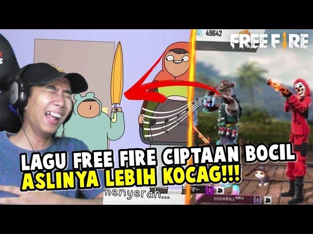 ASAL USUL LAGU FREE FIRE VERSI BOCIL!!! LEBIH NGAKAK!!!