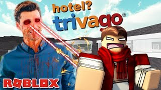 YOUTUBERS ESCAPAN FROM HOTEL TRIVAGO IN ROBLOX!!! 🏃🏃🏃 ROBLOX ENGLISH #19