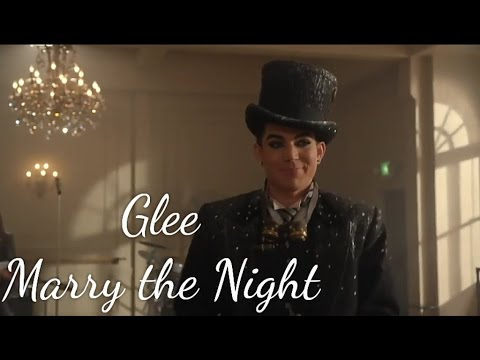 Glee - Marry the Night (lyrics)