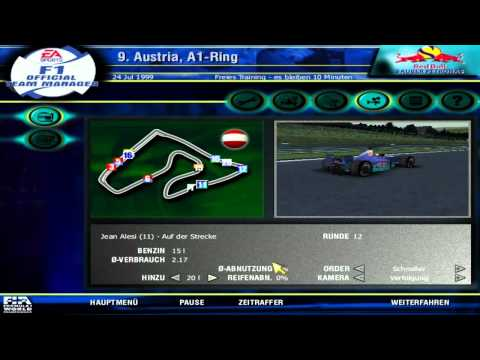 Lets Play F1 Official Team Manager Part 9 Österreich A1-Ring