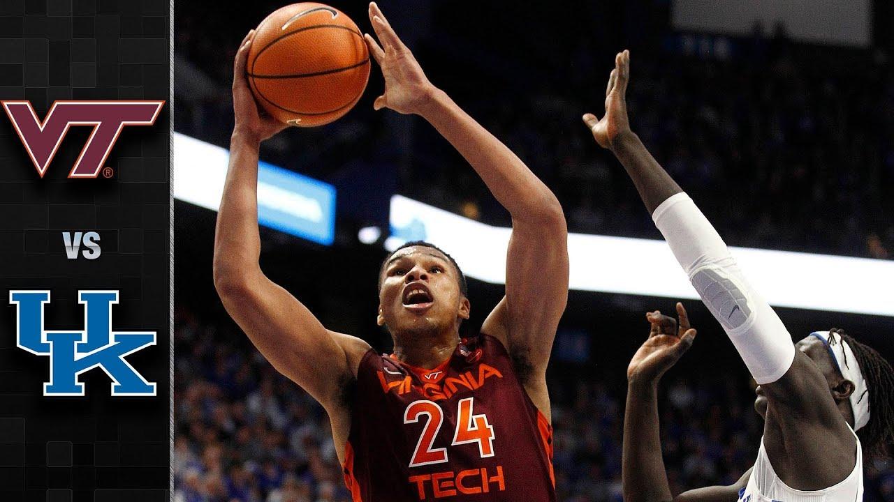 Uk Basketball: Virginia Tech Vs. Kentucky Basketball Highlights (2017-18