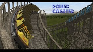Roller Coaster No Limits 2 Simulator PC Gameplay