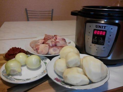 Как приготовить жаркое из курицы в мультиварке