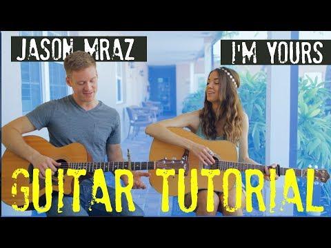 Jason Mraz - I'm Yours - GUITAR TUTORIAL w/ Guitar Goddess!