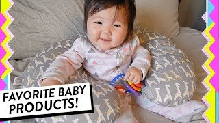 Favorite Baby Products! Our Baby Must-Haves from Newborn to 6 Months Old | HelloHannahCho