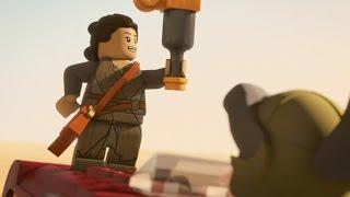 Rey Strikes Back | LEGO Star Wars: The Resistance Rises | Disney XD