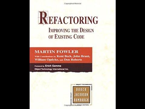 Fowler ebook download refactoring martin free