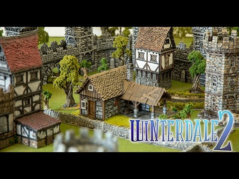 graphic relating to Printable Scenery named 28mm 3d Printable Wargame Landscapes