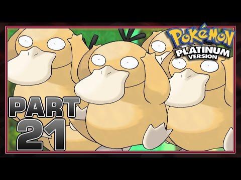 Pokemon Platinum - Part 21 - Bye Bye Psyduck
