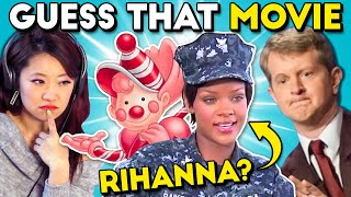 Guess That Movie IN ONE SECOND Challenge ft. Ken Jennings (Battleship, Clue)