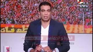 """شادى محمد """"منظر حضارى ومباراة تاريخيه للنادى الاهلى امام روما"""""""