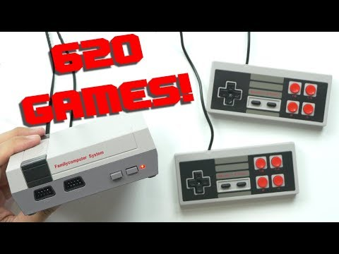 NES Clone With 620 GAMES!