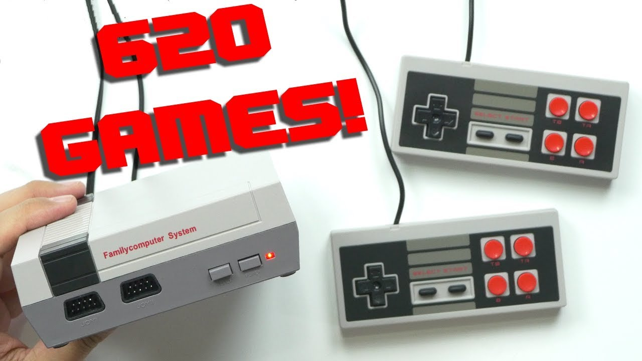 Nes Clone With 620 Games Youtube