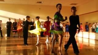 Открытый урок по бальным танцам 7 Румба (май 2016) ТСК Фантазия