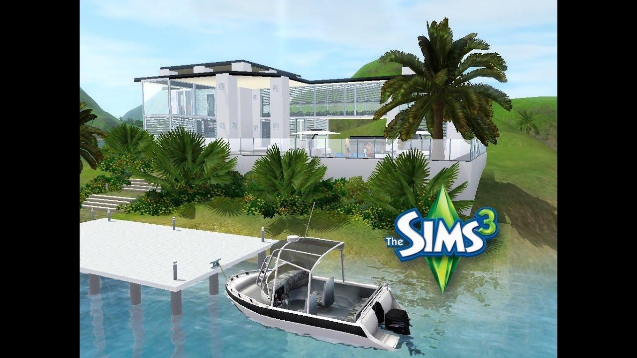 Sims 3 haus bauen lets build schickes haus auf niemand island