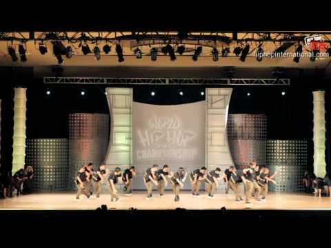 GRV (USA) at World Hip Hop Dance Championship Finals 2012 (MegaCrew)