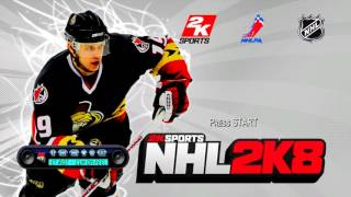 NHL 2K8 Title Screen (PS2, PS3, Xbox 360)