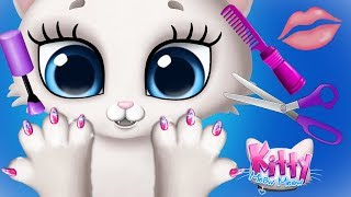 Fun Animal Kitten Care Games  Cute Little Kitten Hair Salon, Nails Dress Up Makeover Kids App