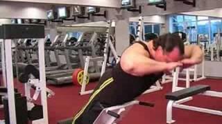 ZMIX.RU Гиперэкстензии - видео  выполнение упражнения
