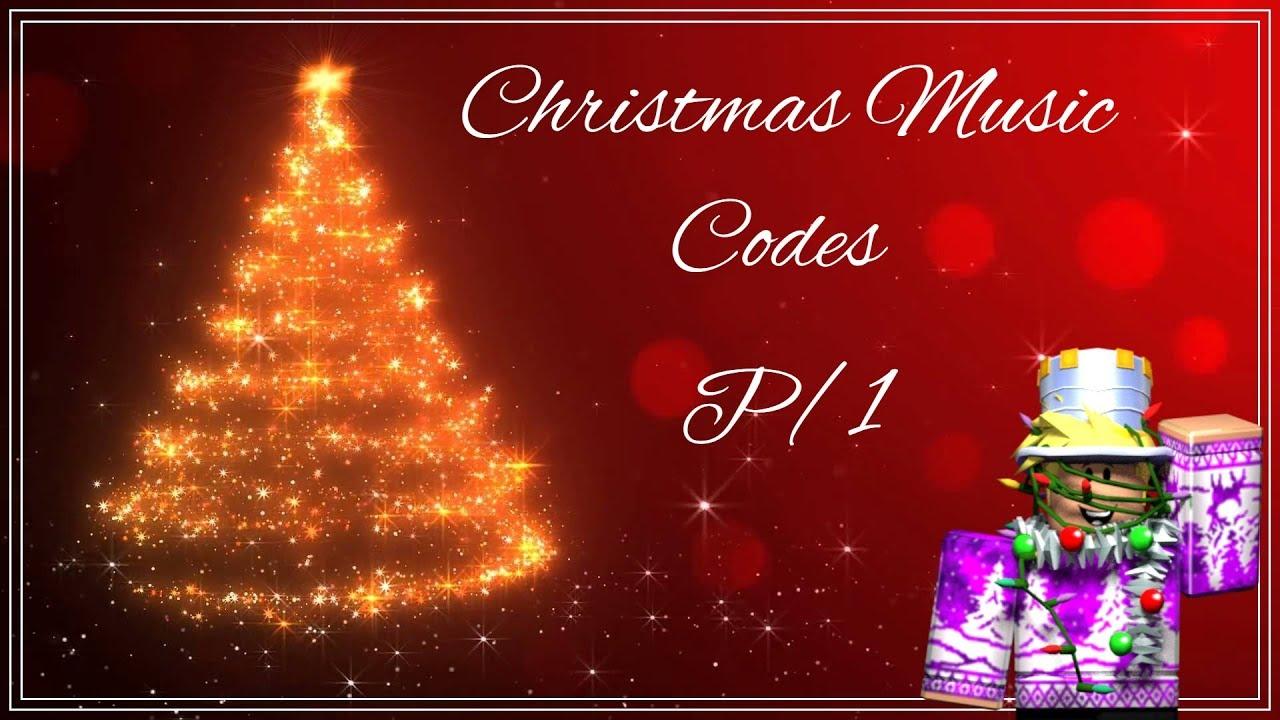 Roblox Christmas Music Codes P 1 Youtube