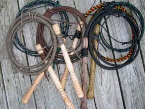 Make your own whip crackers - YouTube