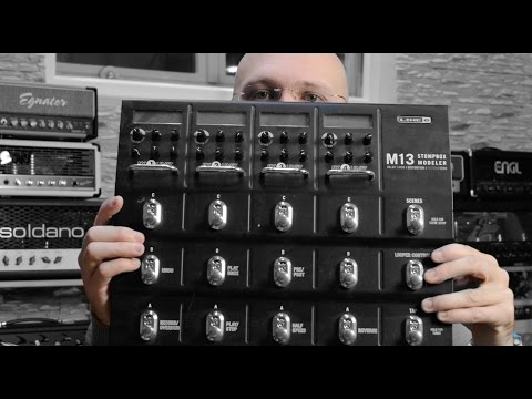 Stompboxes versus Multi-Effects