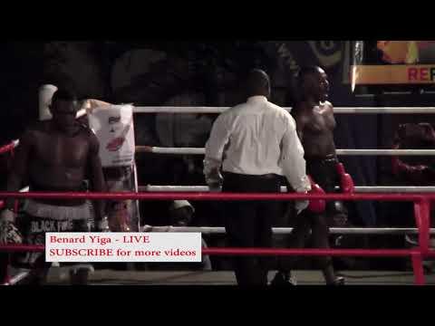 JOHN SSERUNJOGI (UGANDA) VS PATRICK AMATE (KENYA) #BOXING IN KAMPALA UGANDA