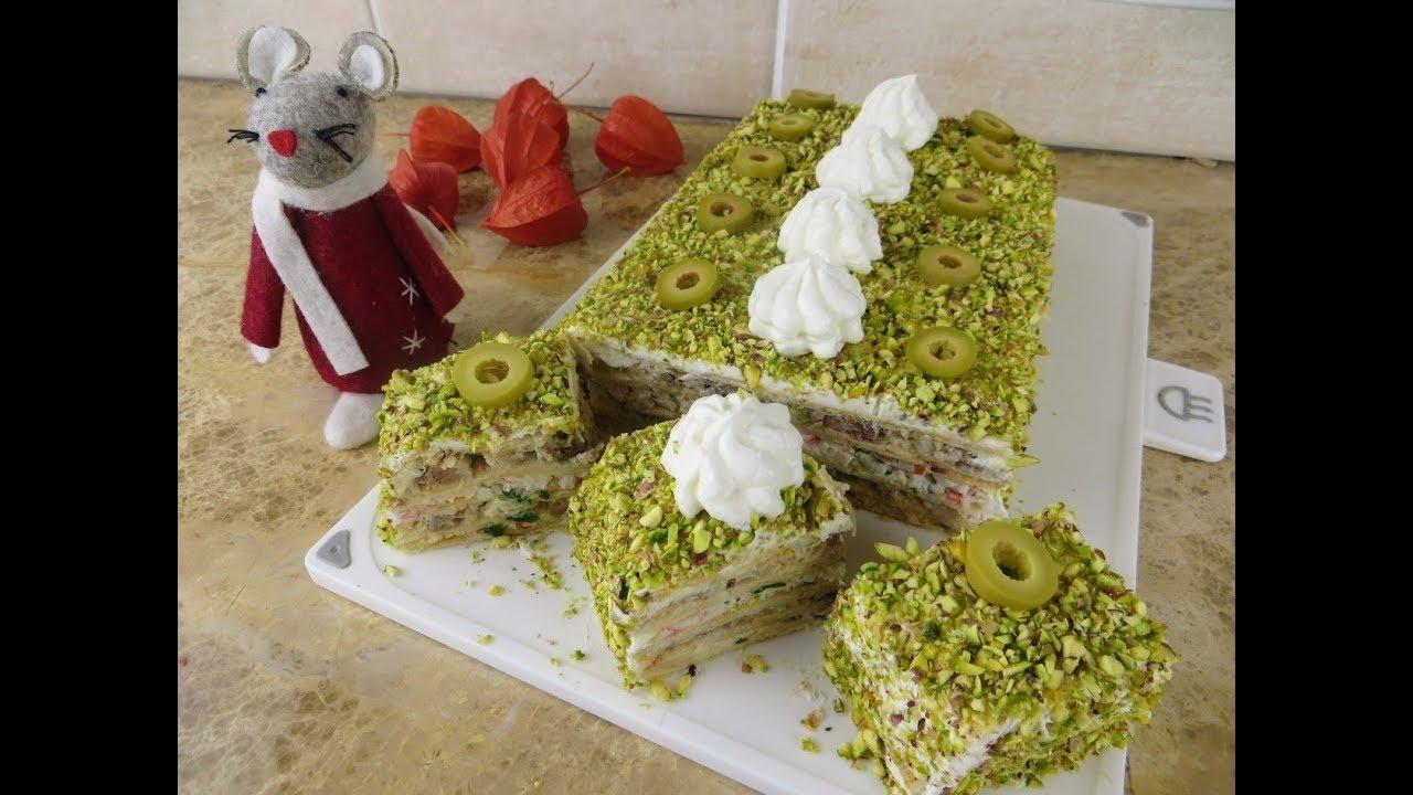 Закусочный торт, который взорвет интернет / Морской Наполеон