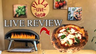 🔴LIVE: Neapolitan Pizza in Ooni Koda 16⎮Review